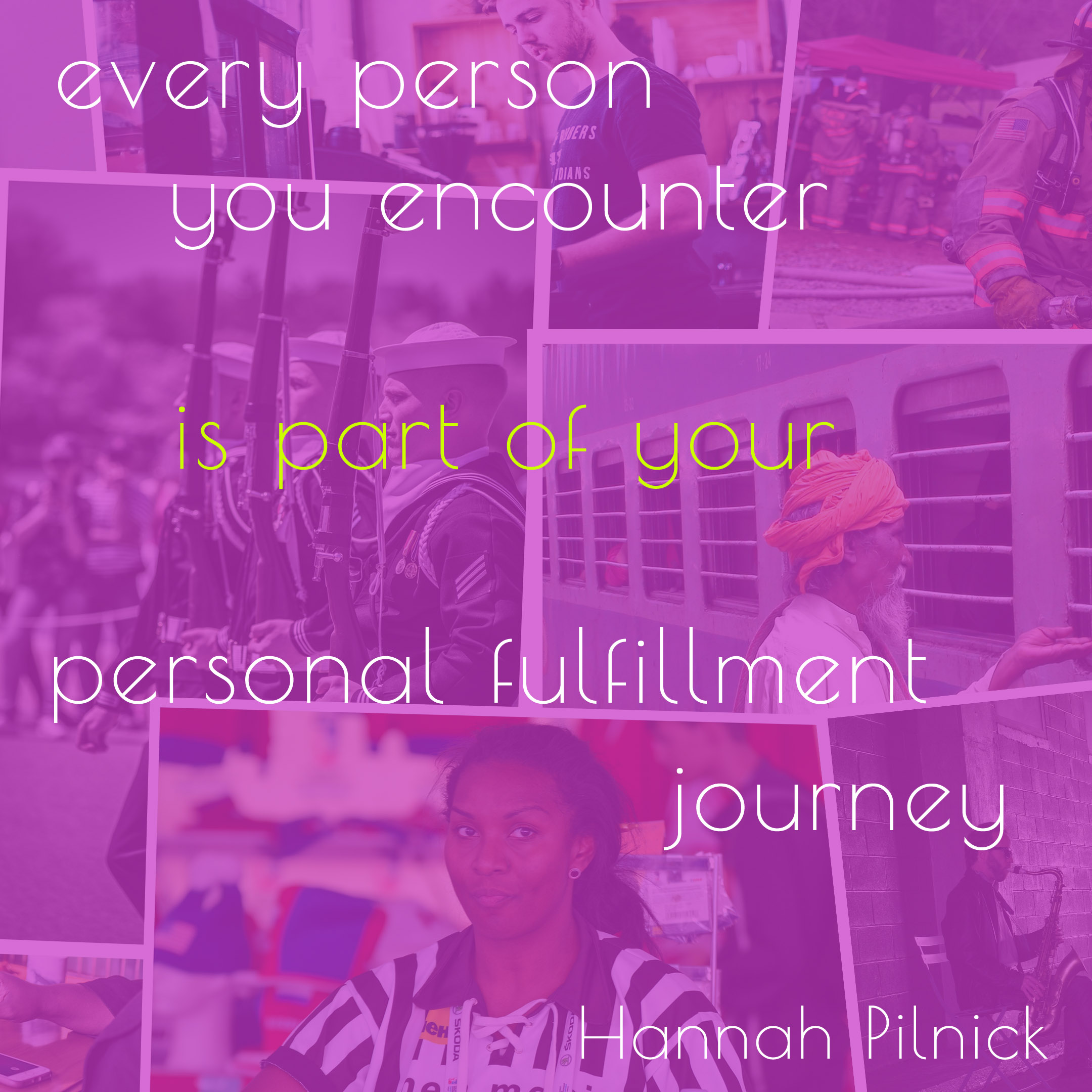 We are part of your personal journey